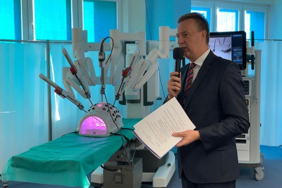 W Siedlcach mają najnowocześniejszego robota chirurgicznego na świecie. Kosztował 10 mln zł