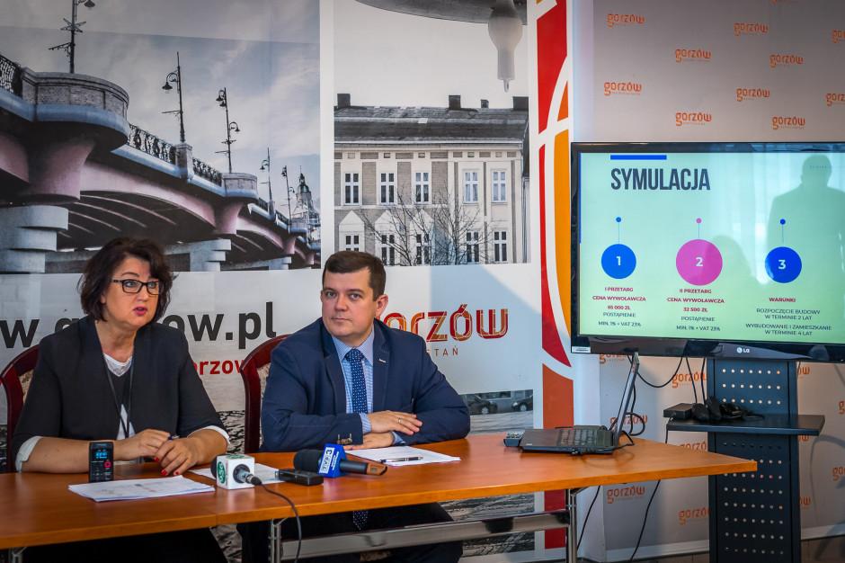 Gorzów Wielkopolski sprzeda działki budowlane za połowę ich wartości