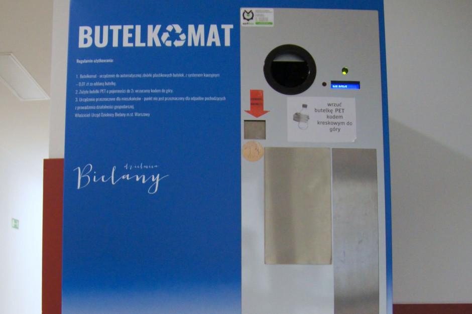 Pierwszy butelkomat na Bielanach