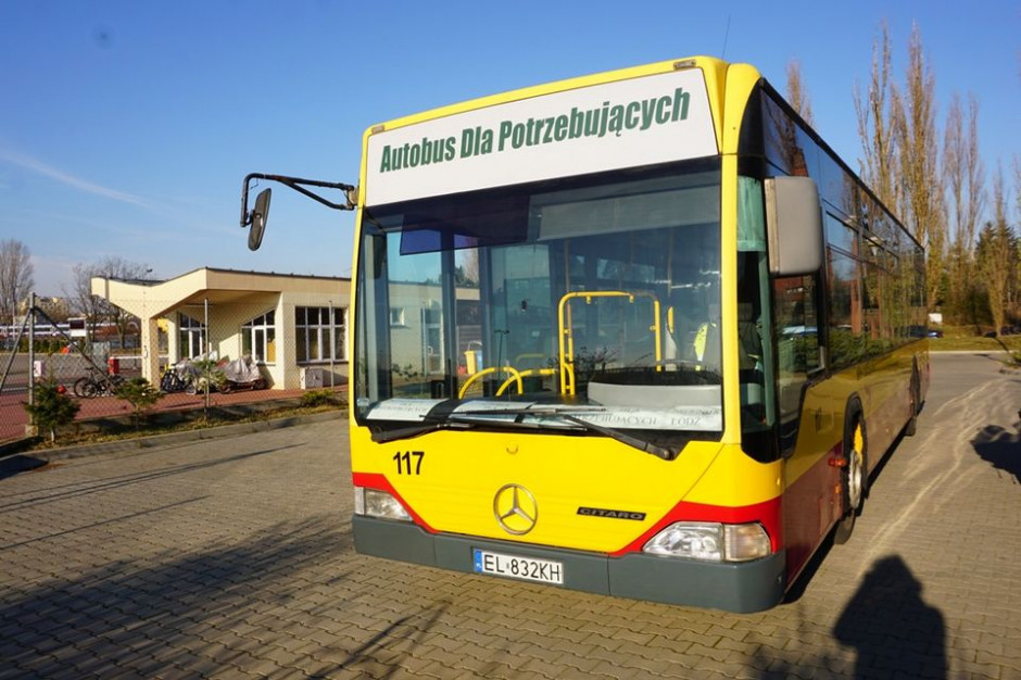 Na ulice Łodzi wyjedzie autobus dla bezdomnych