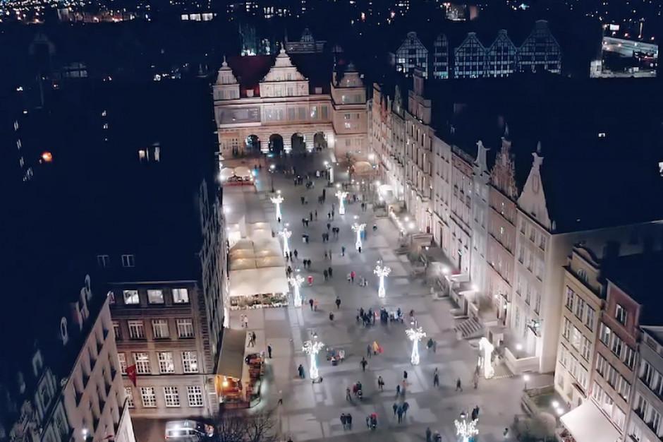 Świąteczne iluminacje w Gdańsku i Sopocie