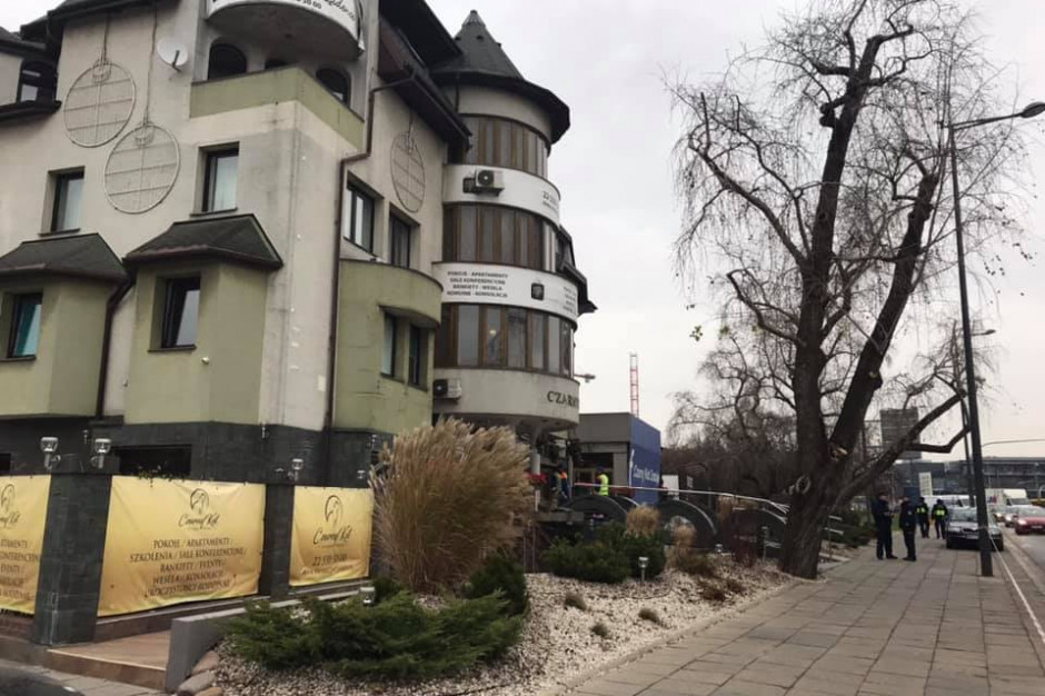 "Rusza rozbiórka hotelu ""Czarny Kot"""