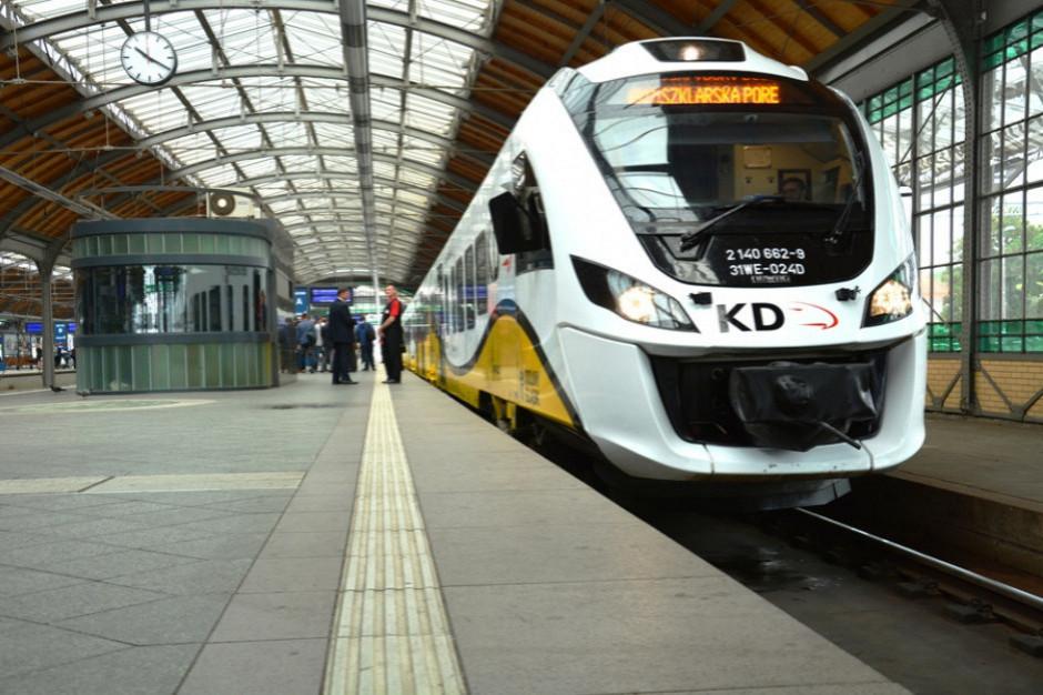 Rząd przyjął projekt otwierający granice województw dla kolei regionalnych