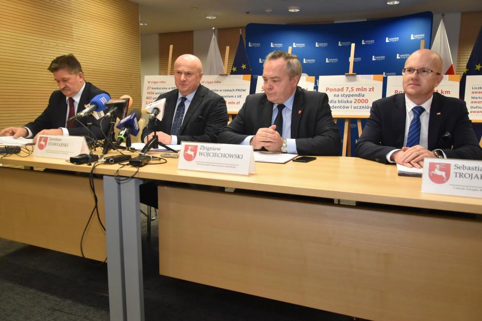 Lubelskie: pierwszy rok kadencji zarządu województwa. Co się udało, a co nie?