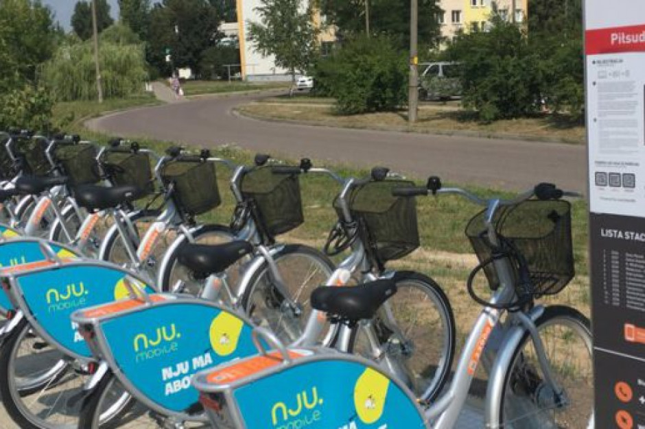 Pierwszy pełny sezon Płockiego Roweru Miejskiego - prawie 290 tys. wypożyczeń