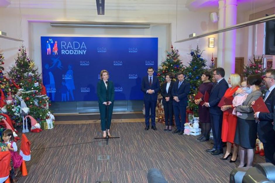 Minister rodziny, pracy i polityki społecznej Marlena Maląg powołała Radę Rodziny