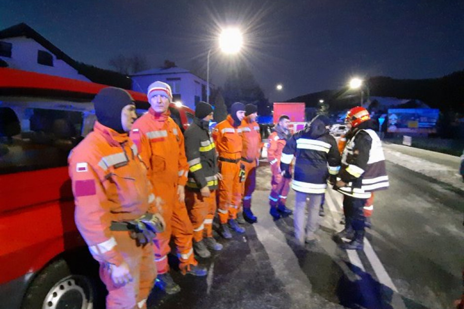 Akcja ratowniczo-poszukiwawcza po wybuchu w Szczyrku zakończona