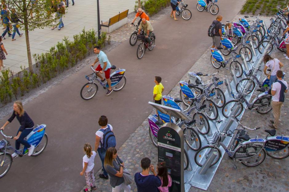 Rower miejski w Warszawie. Prawie 6 mln wypożyczeń w 2019 roku