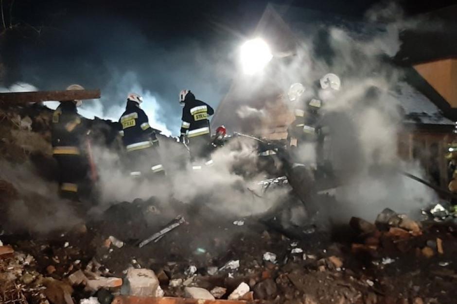 Oględziny w miejscu katastrofy w Szczyrku. Potrzebne prace odkrywkowe
