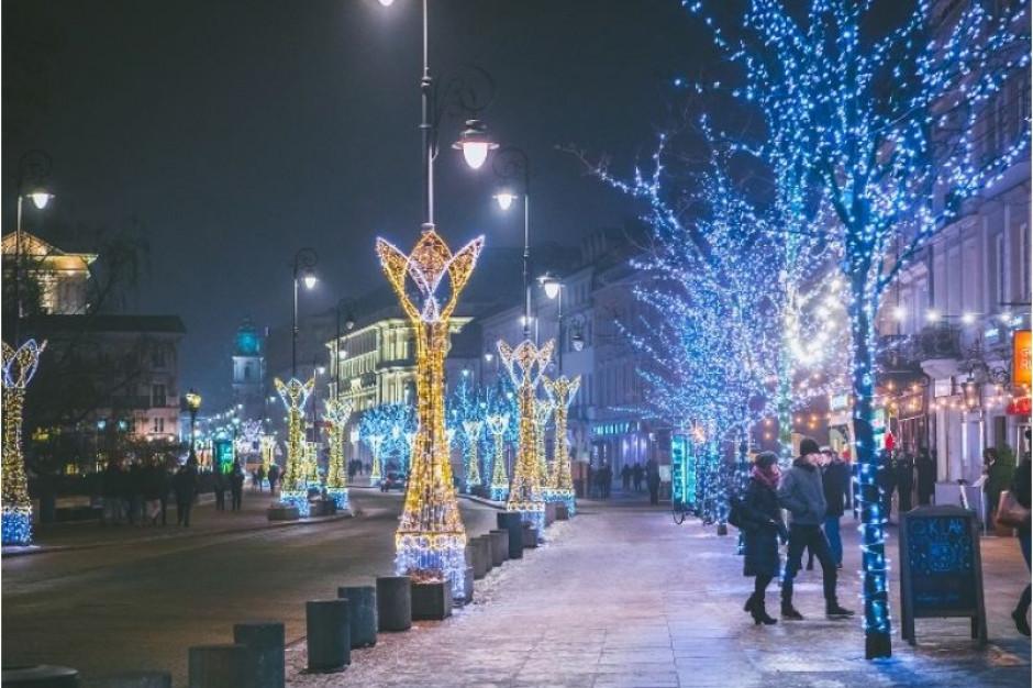 W sobotę stolicę rozświetli świąteczna iluminacja