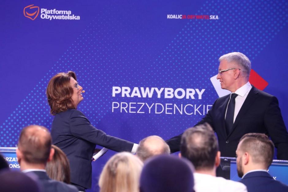 Jacek Jaśkowiak o debacie: myślę, że nie było źle