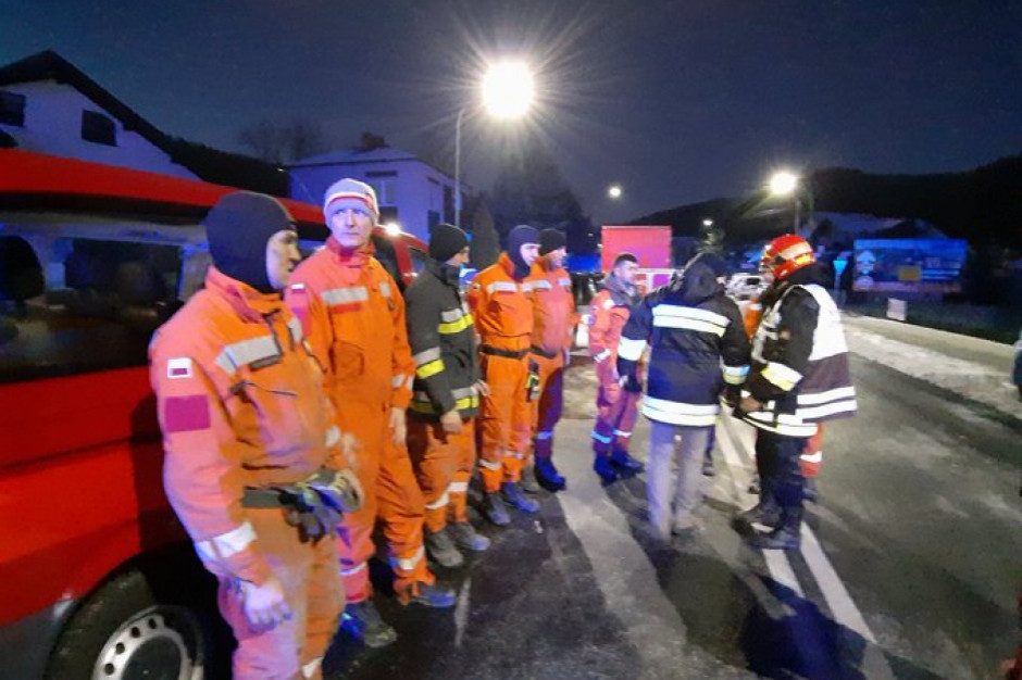 Fala wsparcia dla rodziny ofiar katastrofy w Szczyrku