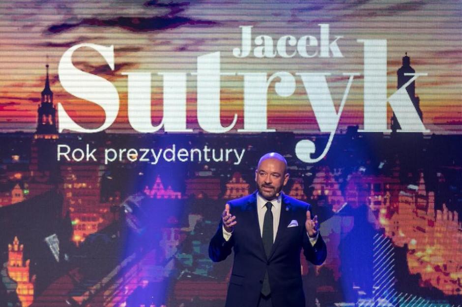 Kosztowne podsumowanie pierwszego roku prezydentury Jacka Sutryka
