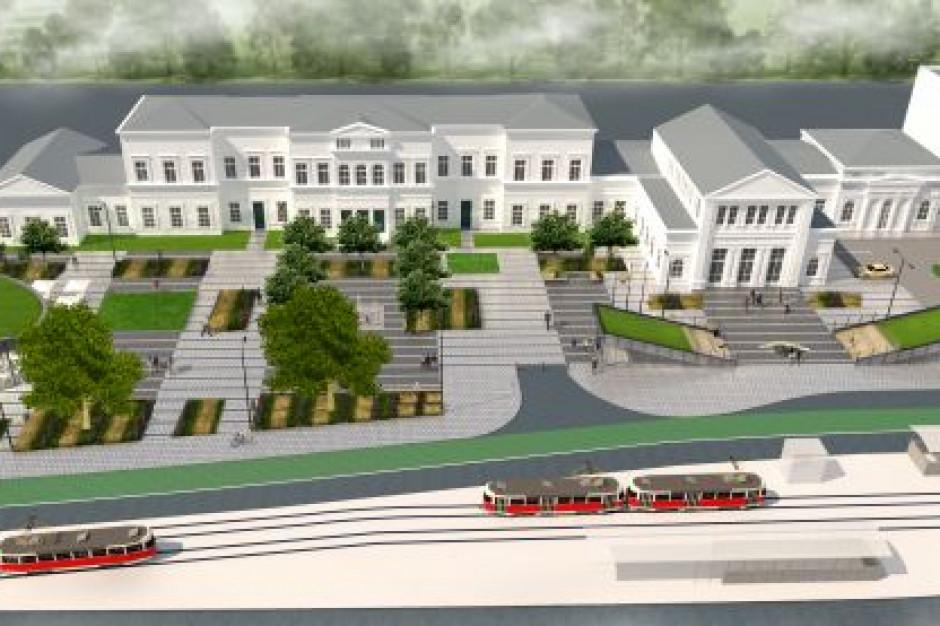 Sosnowiec: Nie ma chętnych na przebudowę placu przed dworcem PKP