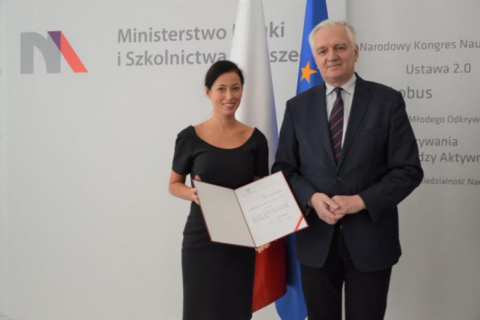 Anna Budzanowska wiceministrem nauki i szkolnictwa wyższego
