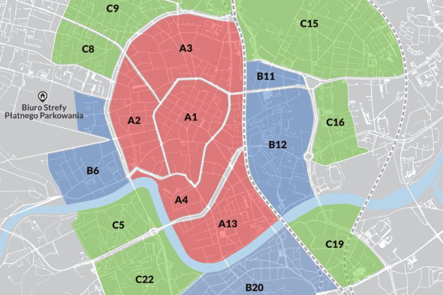 W strefie płatnego parkowania będą obowiązywały trzy grupy cenowe - zależnie od podstref (fot. krakow.pl)