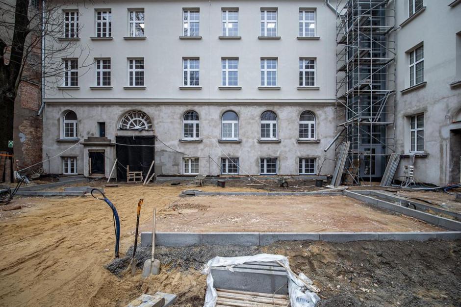 Zabytkowa szkoła w Łodzi zostanie wyremontowana