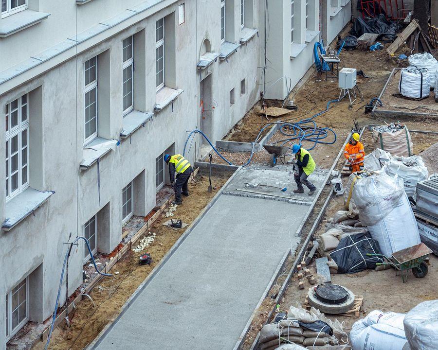 Koszt rewitalizacji szkoły to ponad 13 mln zł. (fot. uml.lodz.pl)