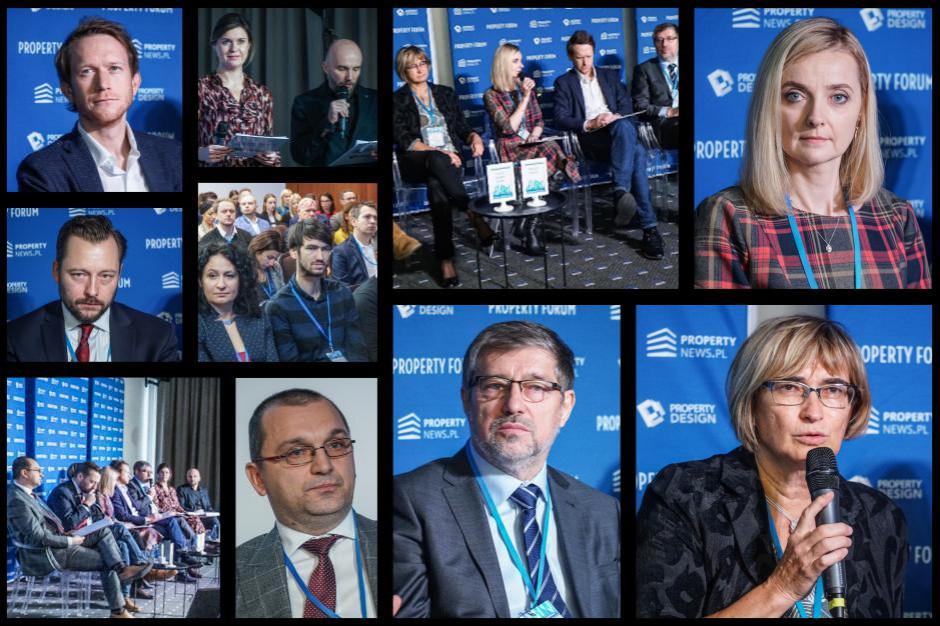 """Sesja inauguracyjna Property Forum Wrocław """"#10years challenge na rynku nieruchomości. Jak zmieniła się rola dewelopera"""". Fot. PTWP."""