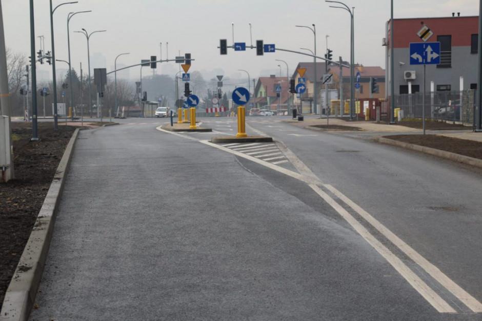 Śląskie: W Tychach otwarta nowa droga do centrum
