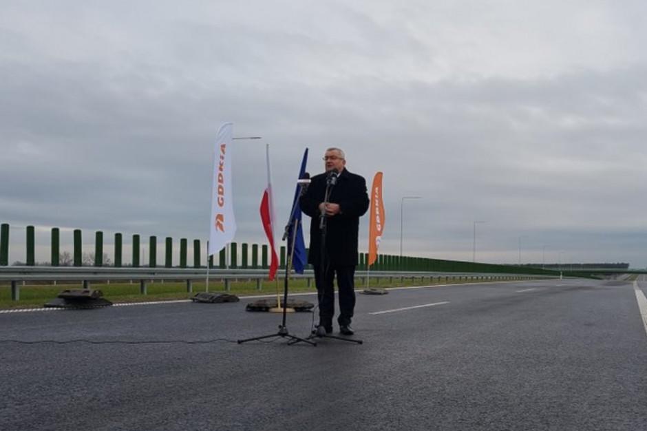 Andrzej Adamczyk: Łączymy w całość sieć drogową w Polsce