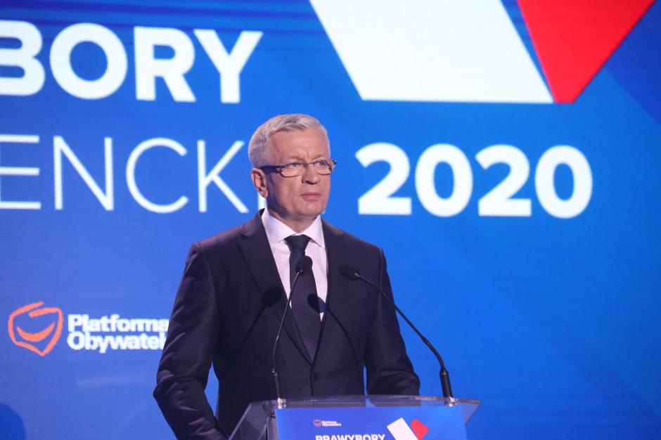 Jacek Jaśkowiak zaapelował do samorządów: Od dziś wspierajmy Małgorzatę Kidawę-Błońską
