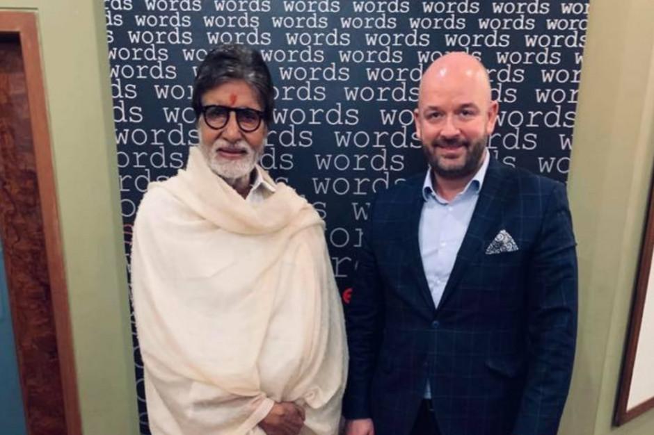 Gwiazda Bollywood Amitabh Bachchan gości we Wrocławiu