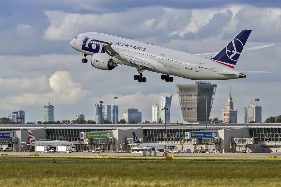 Lotnisko Chopina obsługuje coraz więcej pasażerów