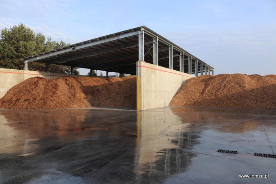 Biomasa ogrzeje mieszkańców Łomży. Instalacja czeka na rozruch