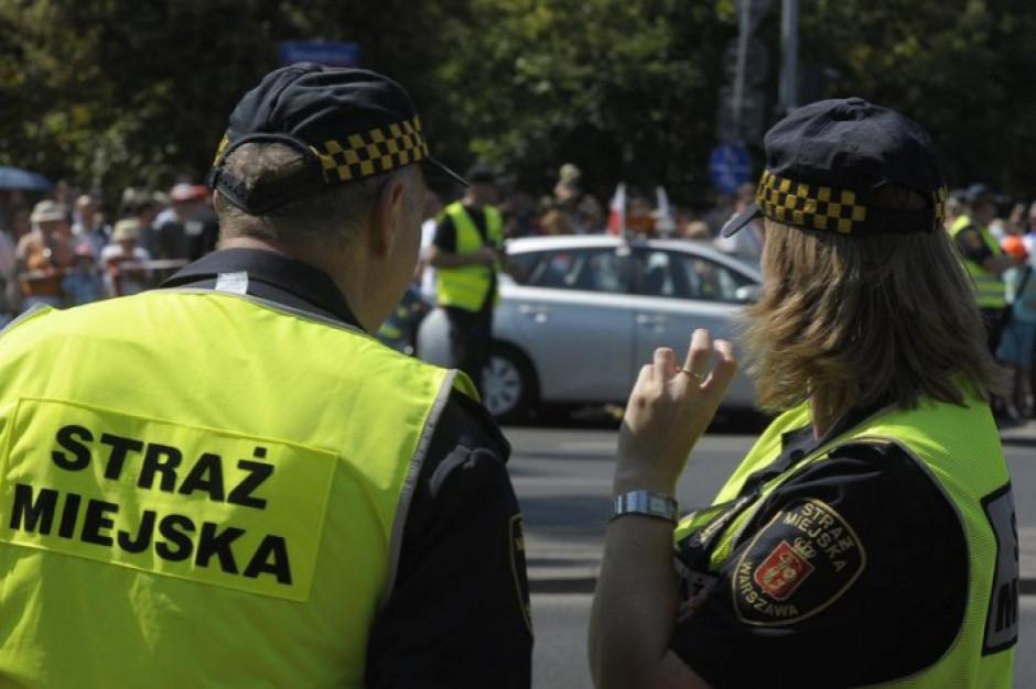 Strażnik miejski jak policjant