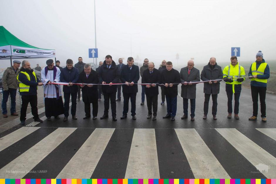 Obwodnice na trasie z Białegostoku w stronę Łap już w użytku