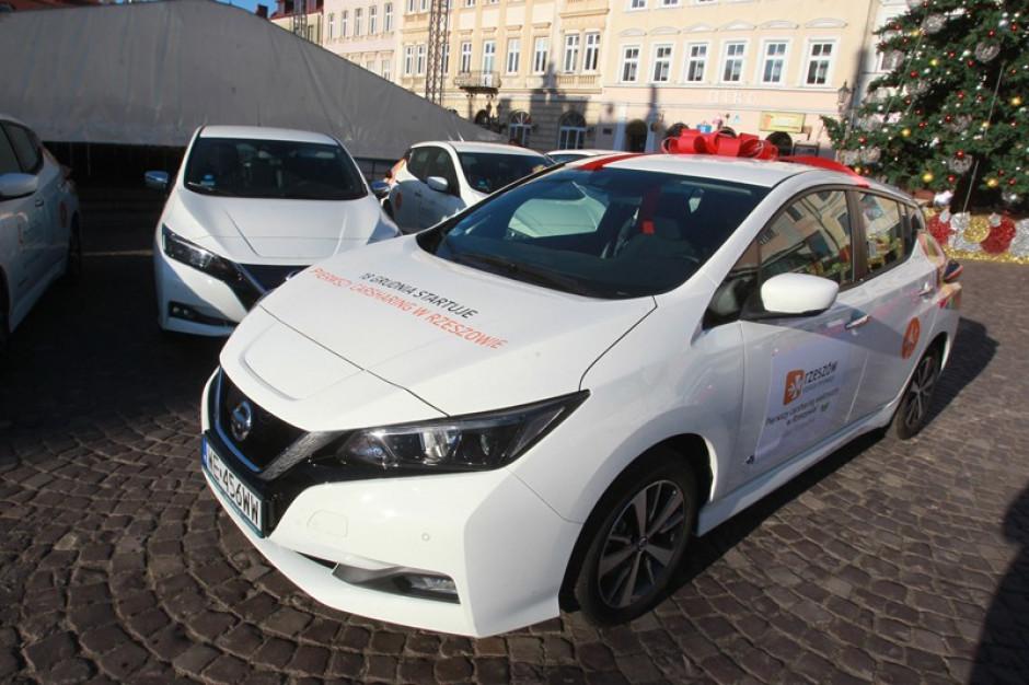 W Rzeszowie można już wypożyczać samochody elektryczne na minuty