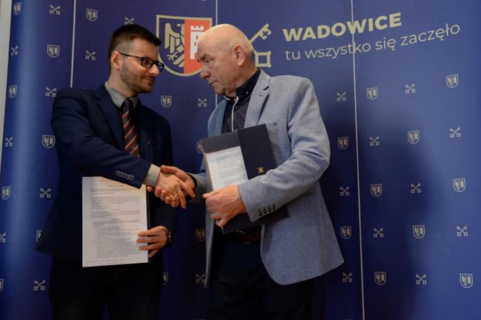 Wadowice podpisały umowę z wykonawcą modernizacji głównej ulicy miasta
