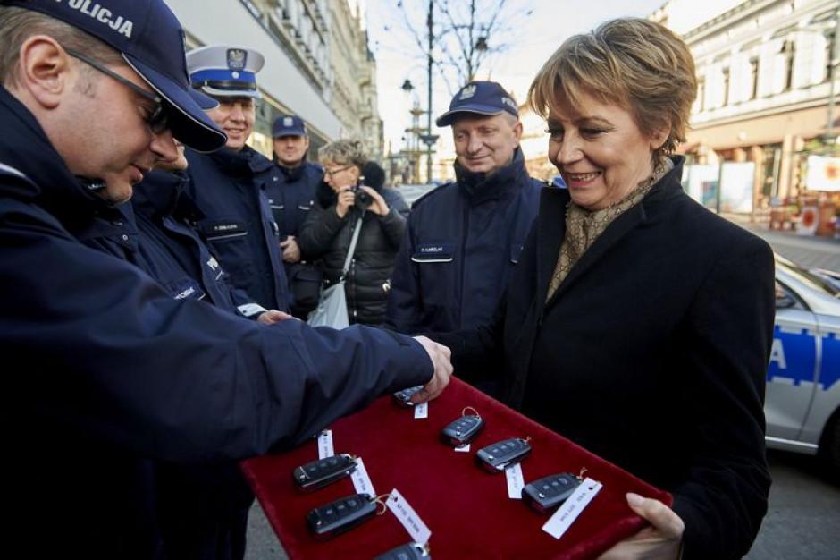 Łódź  dofinansowała zakup kolejnych samochodów dla policji