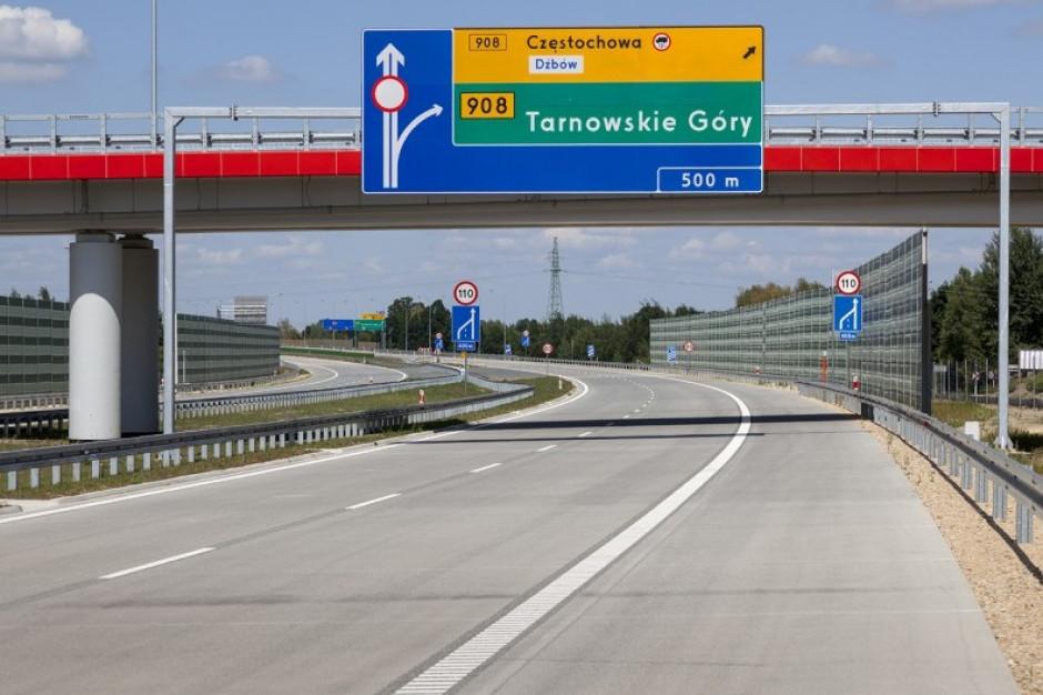 Otwarto autostradę A1 wokół Częstochowy