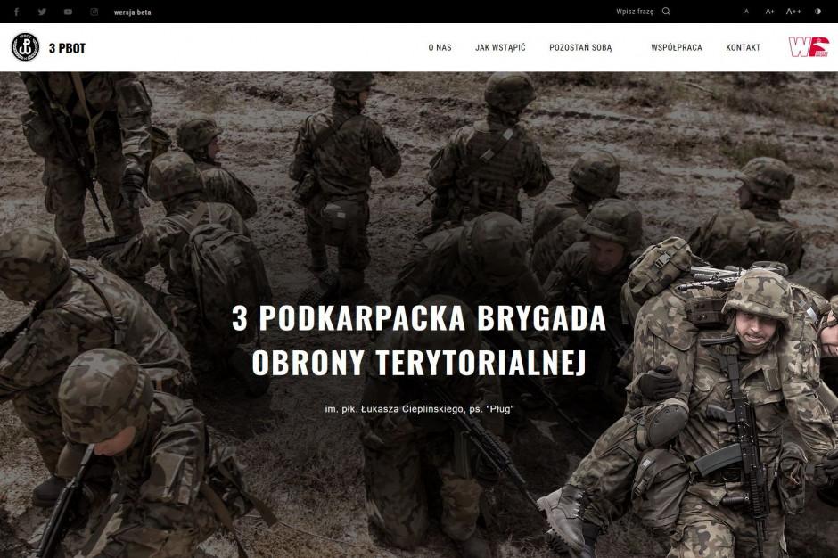 Podkarpaccy terytorialsi mają swoją stronę internetową