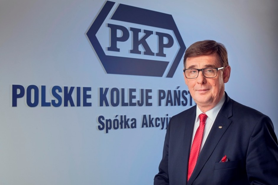 Krzysztof Mamiński, prezes Grupy PKP S.A. Fot. mat. pras.