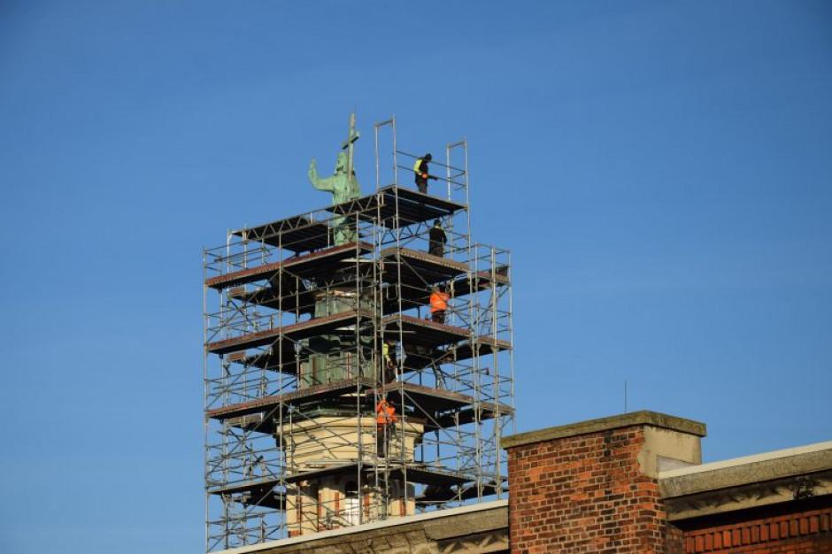 W Oświęcimiu zakończył się remont wieży z posągiem Chrystusa