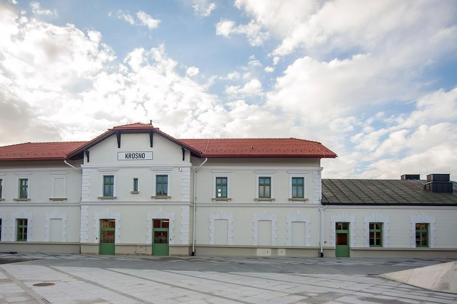 Krosno: Etnocentrum w budynku zabytkowego dworca