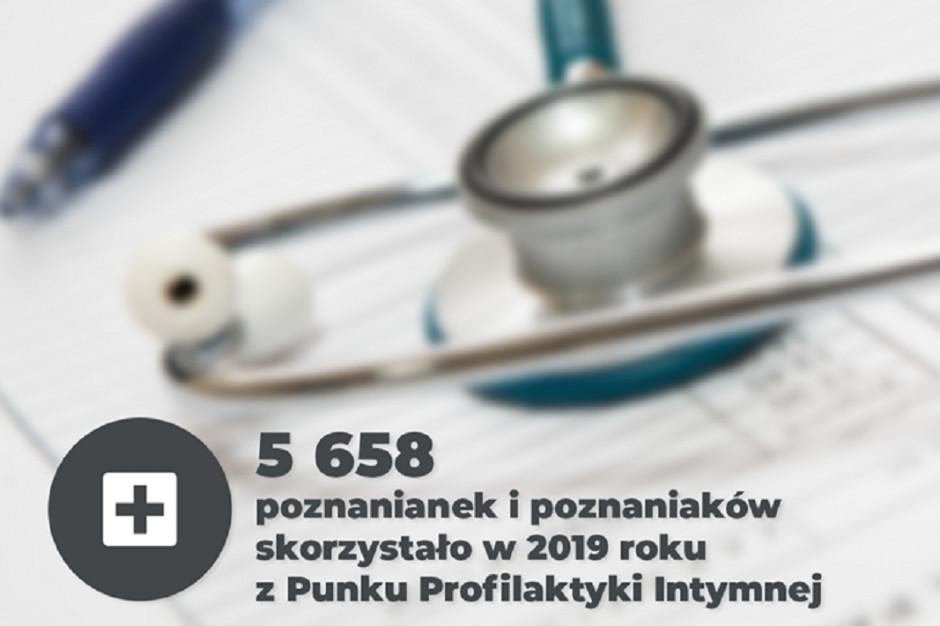 Poznań: 5,6 tys. osób skorzystało z usług Punktu Profilaktyki Intymnej