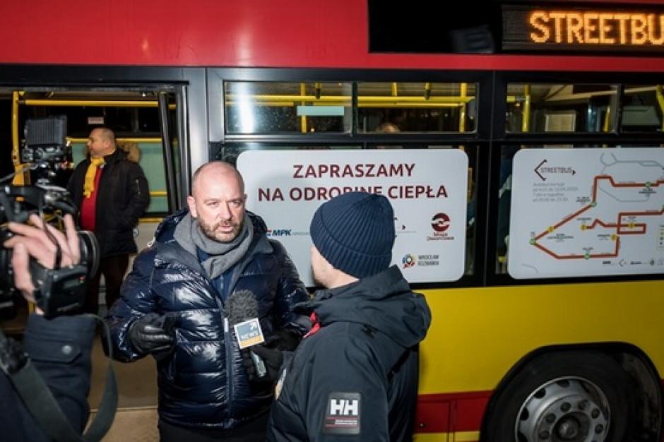 Streetbus we Wrocławiu: Autobus dla bezdomnych na ulicach miasta