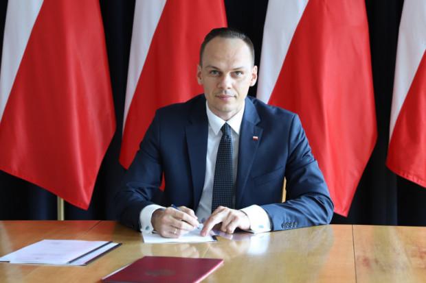 Wiceminister infrastruktury Rafał Weber (fot.mat.pras.)