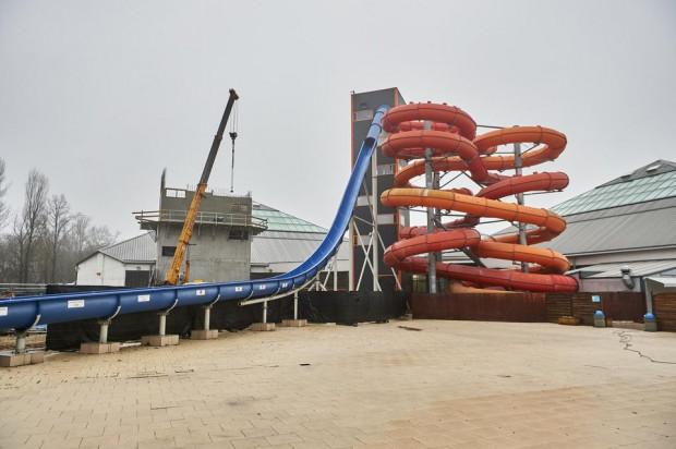 W ramach inwestycji powstaną trzy zjeżdżalnie pontonowe wyposażone w atrakcyjne efekty audiowizualne. (fot. lodz.pl)