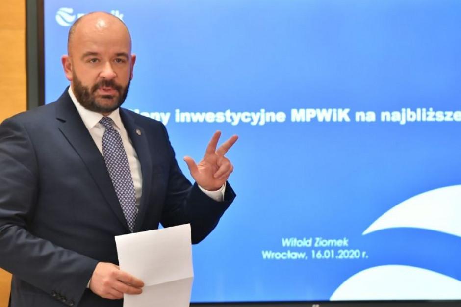 Wrocław: Ponad 500 mln zł na inwestycje MPWiK