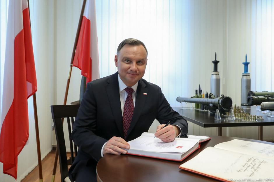 Prezydent Andrzej Duda z wizytą w Skarżysku-Kamiennej