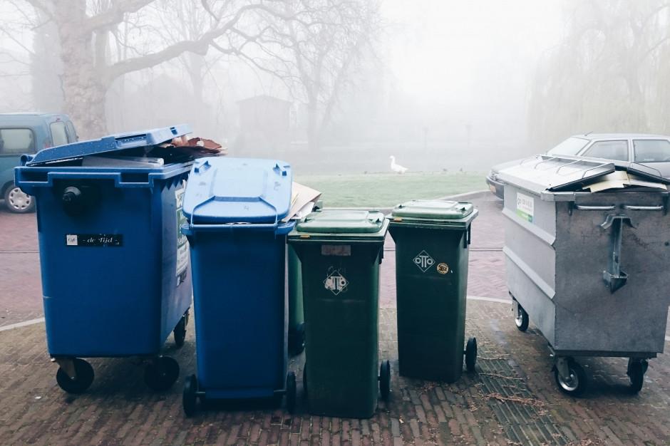 Pół tony odpadów komunalnych na jedną osobę; Polska wytwarza relatywnie najmniej śmieci