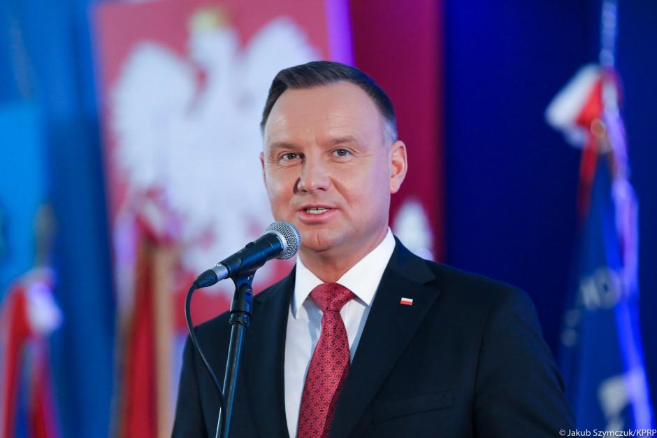 Andrzej Duda do mieszkańców Leszna: Dziękuję, że czcicie pamięć przodków