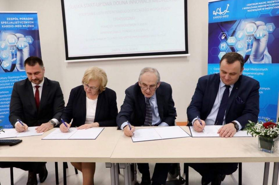 Województwo Śląskie i Kardio-Med Silesia będą współpracować