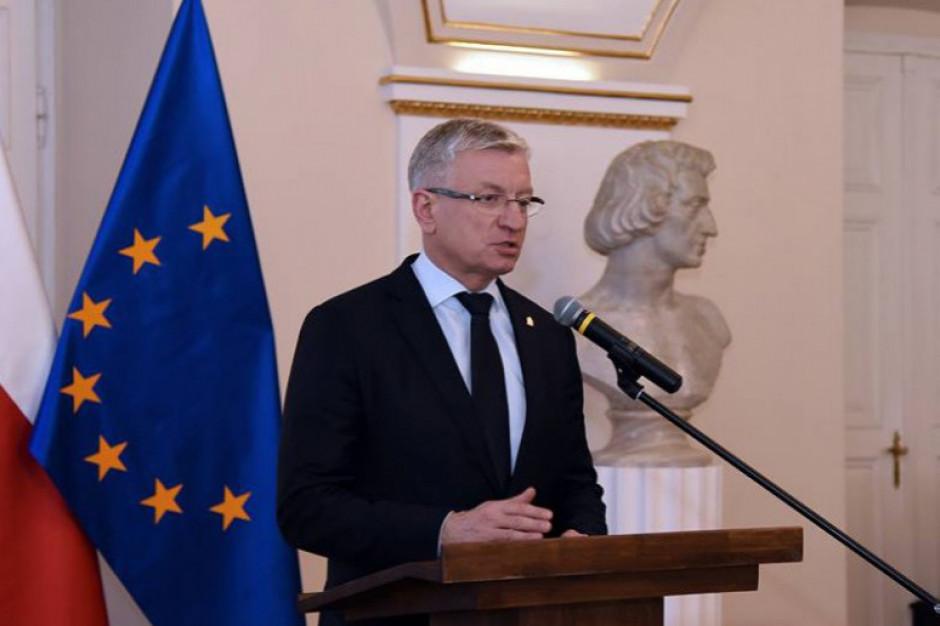 Przerwane przyjęcie u prezydenta miasta Poznania