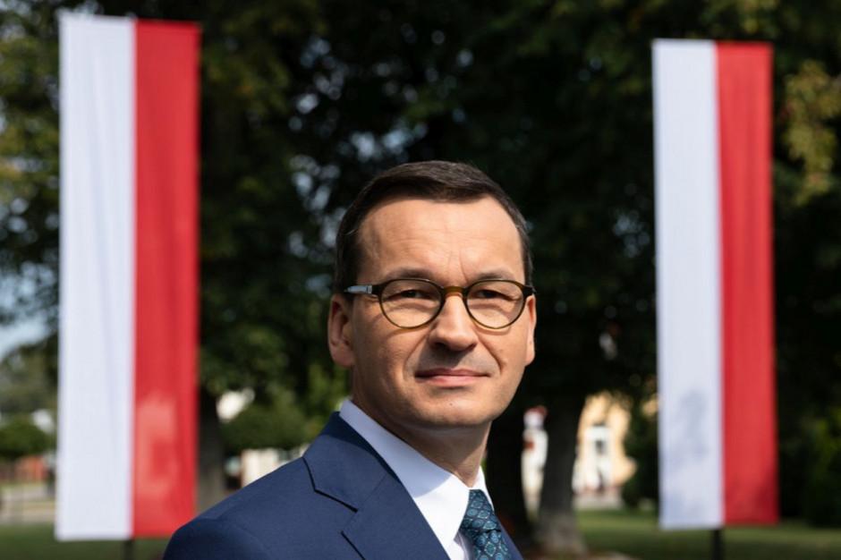 Morawiecki: będziemy jeszcze więcej inwestować w infrastrukturę sportową